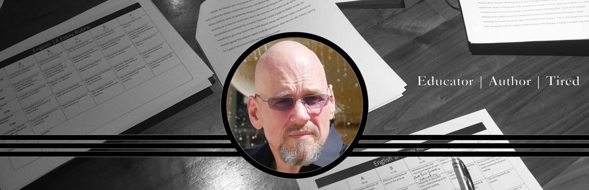 Tim Hatch: Educator. Author. Tired.